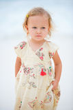 Adorable toddler girl Stock Images