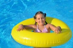 Adorable toddler girl at beach Royalty Free Stock Image