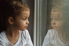 Adorable toddler girl Royalty Free Stock Photos