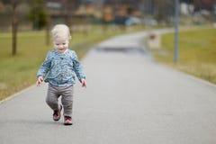 Adorable toddler girl portrait Royalty Free Stock Photos