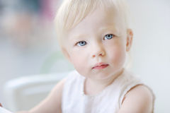 Adorable toddler girl portrait Royalty Free Stock Photo