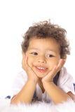 Adorable toddler vertical Stock Image