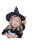 Adorable witch Stock Photos