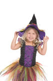 Adorable witch Royalty Free Stock Image