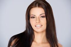 Adorable woman portrait Stock Photo