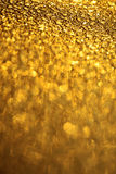 Adorable yellow golden pane glass Royalty Free Stock Images