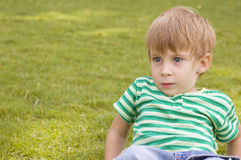 Adorable young boy Royalty Free Stock Images