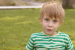 Adorable young boy Stock Photography