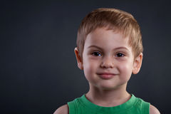 Adorable young boy Royalty Free Stock Photos