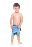 Adorable young boy posing Royalty Free Stock Images