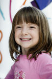 Adorable young child smiling royalty free stock photos