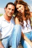 Adorable young couple Royalty Free Stock Photos