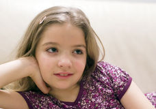 Adorable young girl Royalty Free Stock Photos