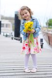 Adorable, young girl Royalty Free Stock Photo