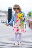 Adorable, young girl Stock Photo