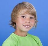 Adorable young happy boy Stock Photos
