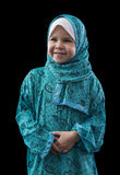 Adorable Young Muslim Girl Stock Photography