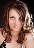 Adorable young woman Stock Images