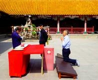 Adoración Budda Fotos de archivo libres de regalías