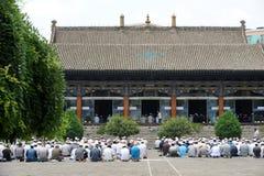 Adoración china de la gente del hui Imágenes de archivo libres de regalías