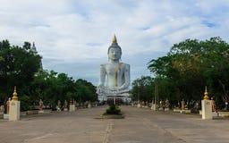 Adoración de ídolo de Buda Imagen de archivo libre de regalías