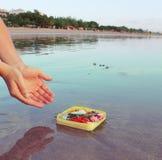 Adoración de Hinduist en Bali Fotos de archivo libres de regalías