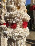 Adoración de la guirnalda del arroz Fotos de archivo