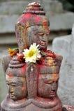 Adoración de Lingam Fotografía de archivo