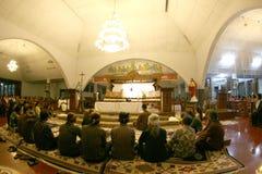 Adoración de los católicos Imagen de archivo