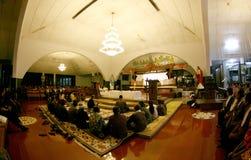 Adoración de los católicos Fotos de archivo