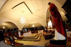 Adoración de los católicos Foto de archivo libre de regalías