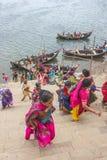 Adoración de Narmada Imagen de archivo