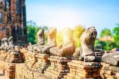 Adoración de Tailandia, estatua de Buda, historia de Tailandia Fotos de archivo