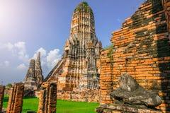 Adoración de Tailandia, estatua de Buda, historia de Tailandia Imágenes de archivo libres de regalías