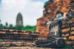 Adoración de Tailandia, estatua de Buda, historia de Tailandia Foto de archivo