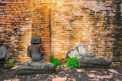 Adoración de Tailandia, estatua de Buda, historia de Tailandia Fotografía de archivo libre de regalías