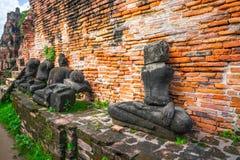 Adoración de Tailandia, estatua de Buda, historia de Tailandia Fotos de archivo libres de regalías