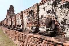 Adoración de Tailandia, estatua de Buda Fotografía de archivo