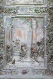 Adoración de unos de los reyes magos Imagen de archivo