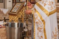 Adoración en iglesia Imágenes de archivo libres de regalías