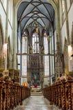 Adoración en iglesia católica Imágenes de archivo libres de regalías