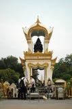 Adoración Ganesh Memorial de los hombres Fotos de archivo