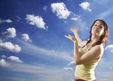 adoraci niebo zdjęcia royalty free