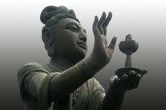 Adorador de Buddha Imagens de Stock
