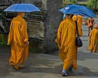 Adoradores do templo, Bali Imagens de Stock