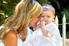 Adorar a mi niño Foto de archivo libre de regalías