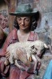 Adoration des bergers Image stock