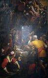 Adoration des bergers Photo stock