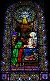 Adoration des Magi Image stock