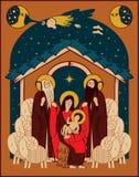 Adoration des magi illustration stock